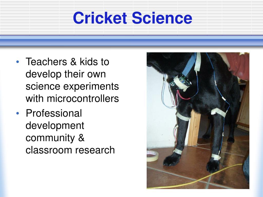 Cricket Science