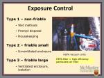exposure control