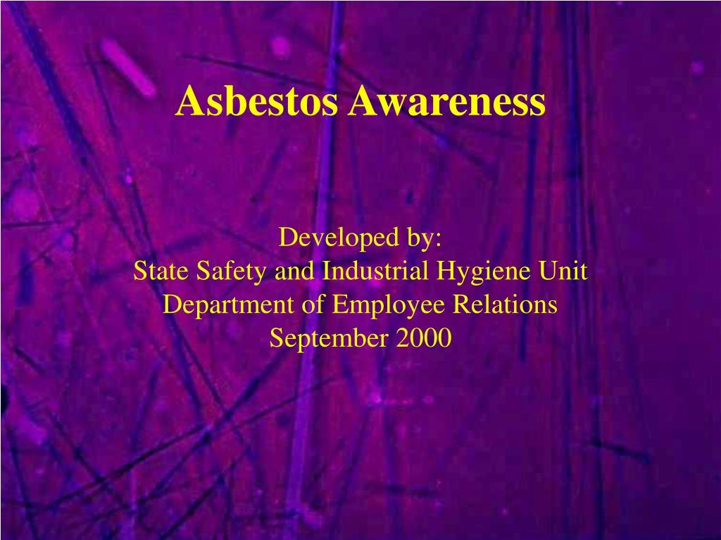 asbestos awareness l.