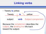 linking verbs22