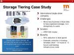 storage tiering case study