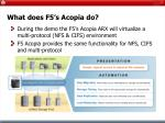 what does f5 s acopia do