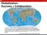 globalization success collaboration