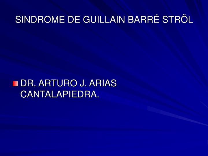 sindrome de guillain barr str l n.