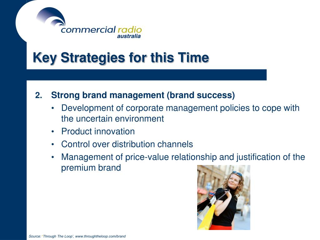 Key Strategies for this Time