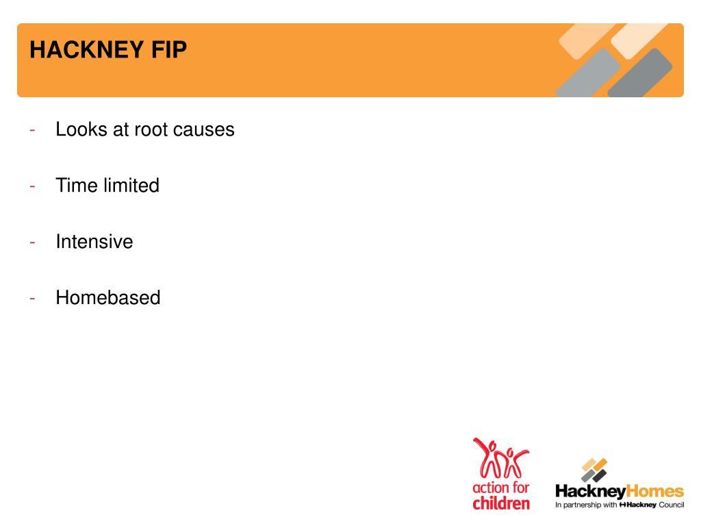 HACKNEY FIP