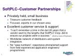softplc customer partnerships