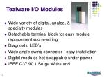 tealware i o modules