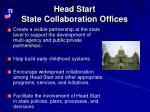 head start state collaboration offices