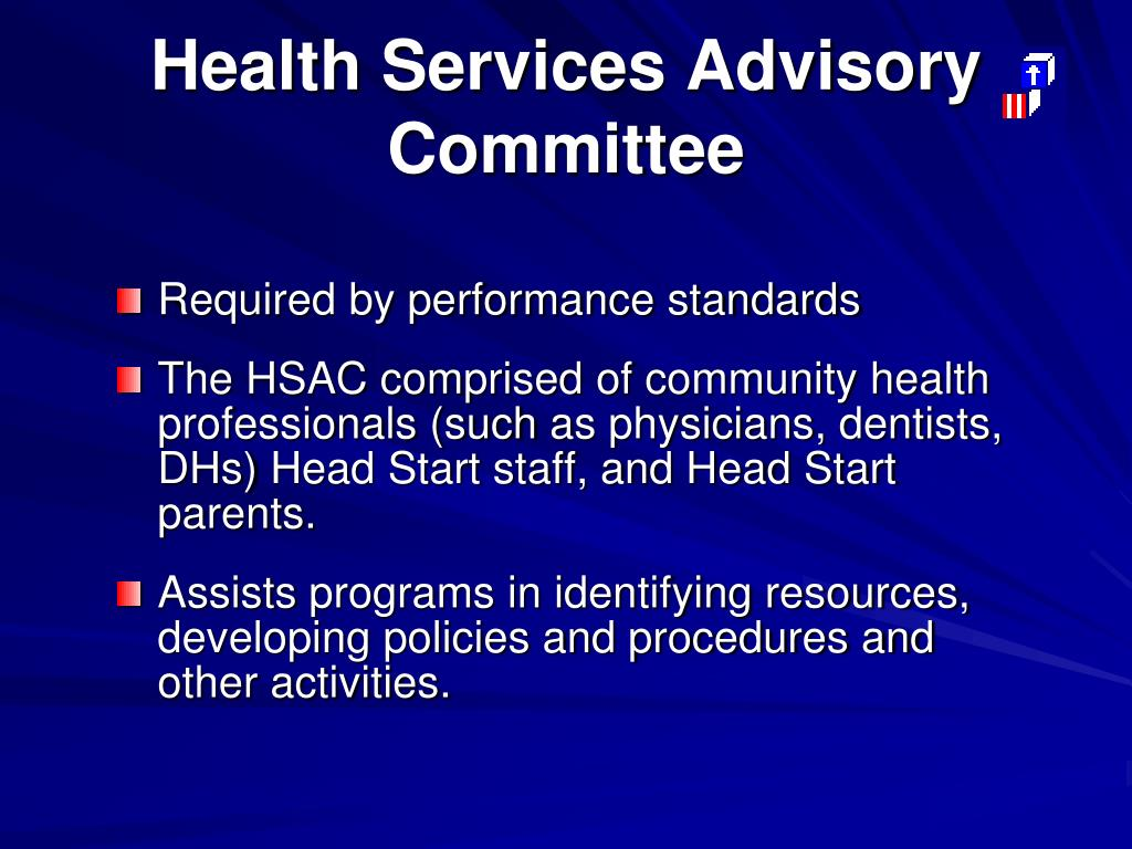 Health Services Advisory Committee