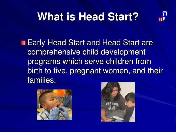What is head start