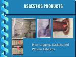 asbestos products11