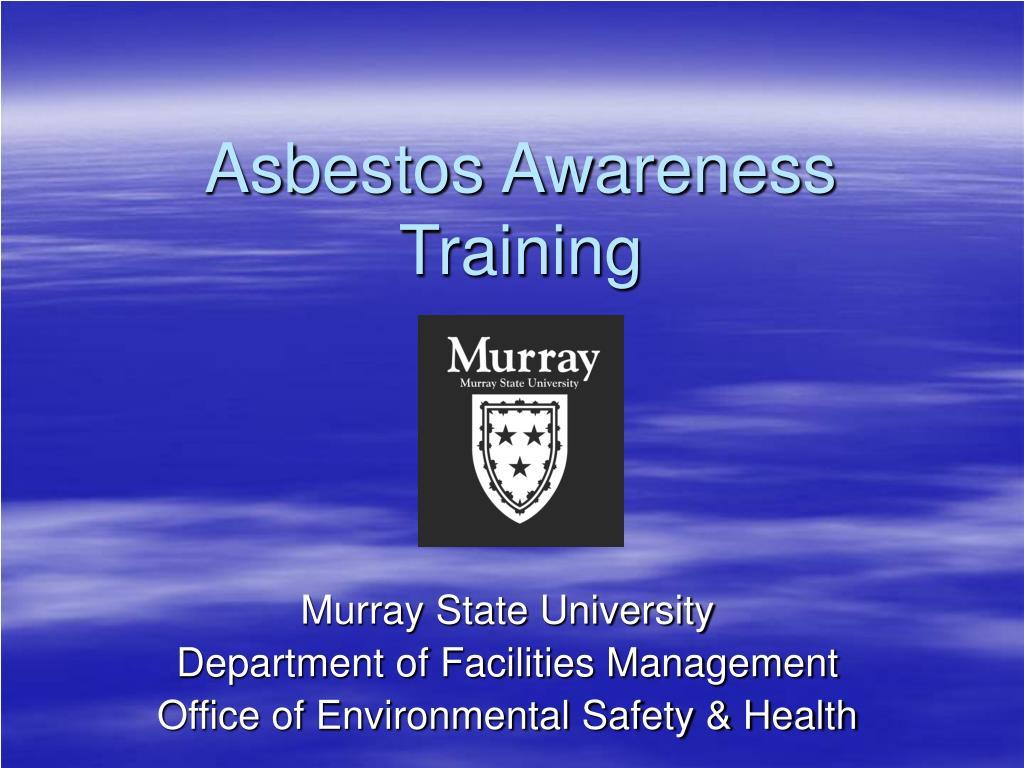 asbestos awareness training l.