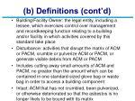 b definitions cont d5