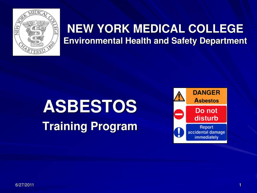 new york medical college environmental health and safety department l.