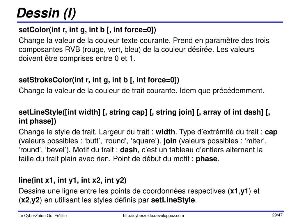 Dessin (I)