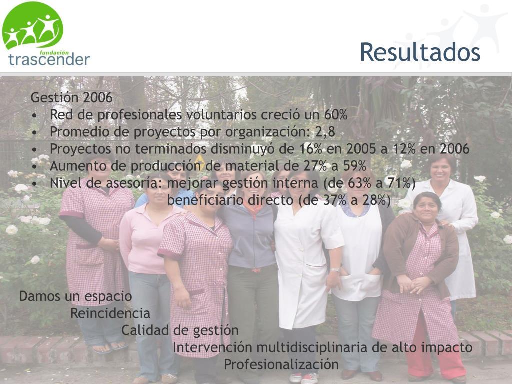 Gestión 2006