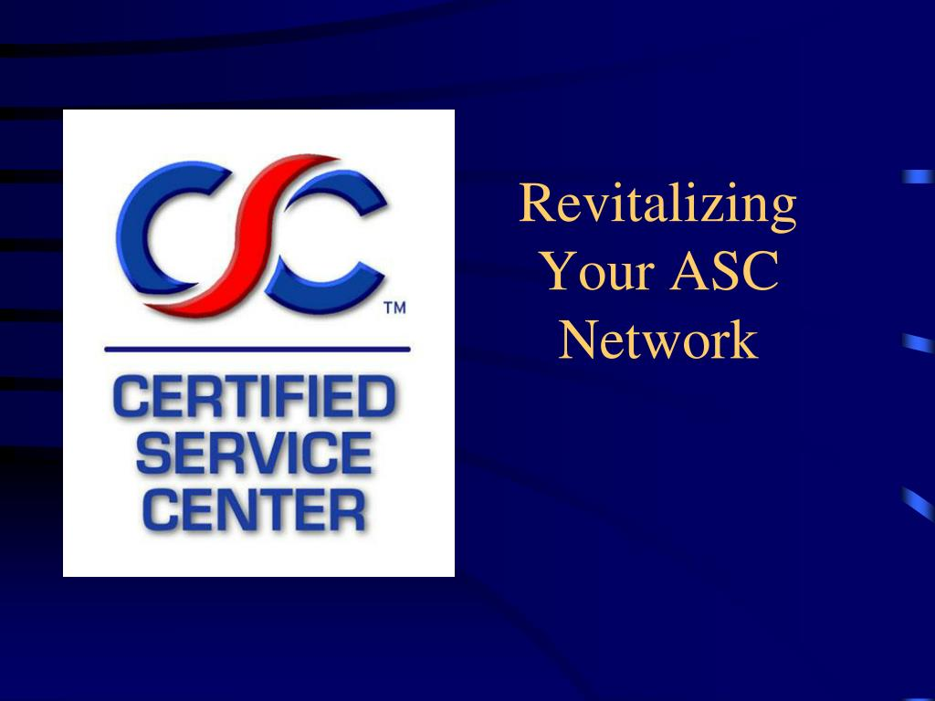 revitalizing your asc network l.