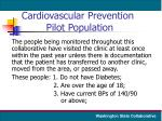 cardiovascular prevention pilot population
