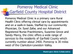 pomeroy medical clinic garfield county hospital district