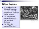 britain invades