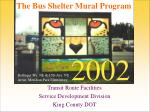 transit route facilities service development division king county dot