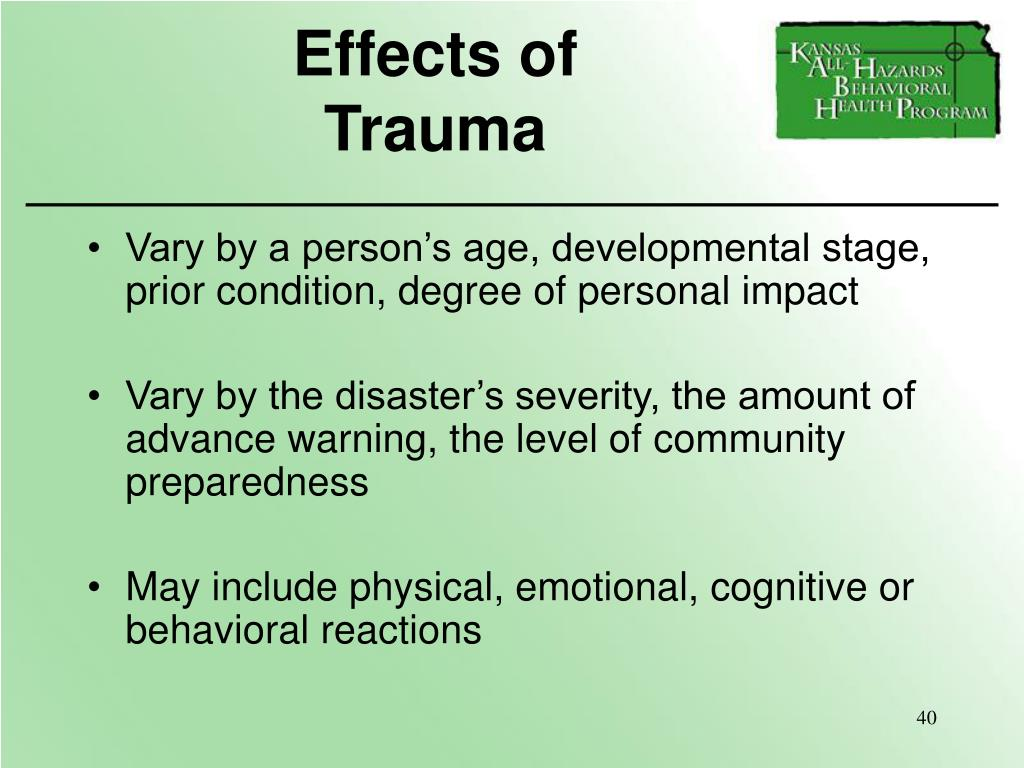 Effects of