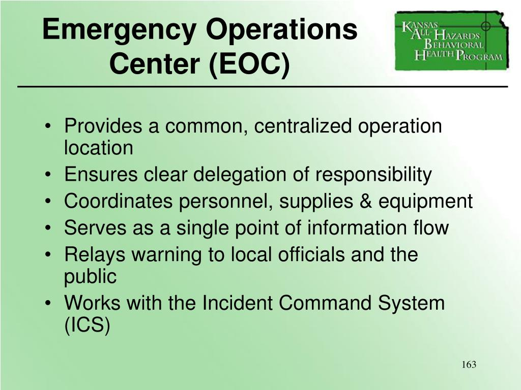 Emergency Operations