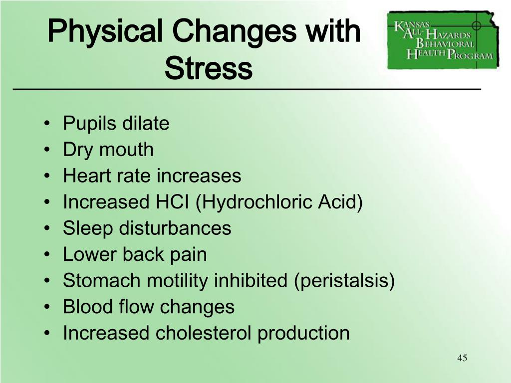 Physical Changes with