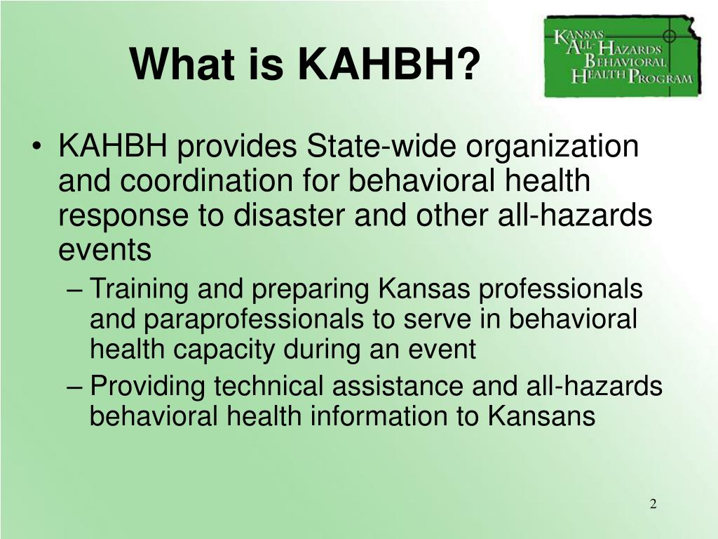 What is KAHBH?