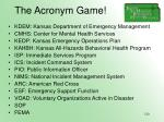 the acronym game120
