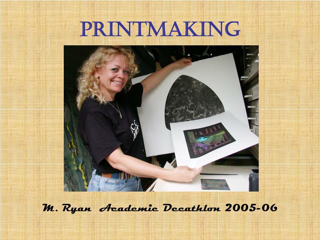 printmaking l.