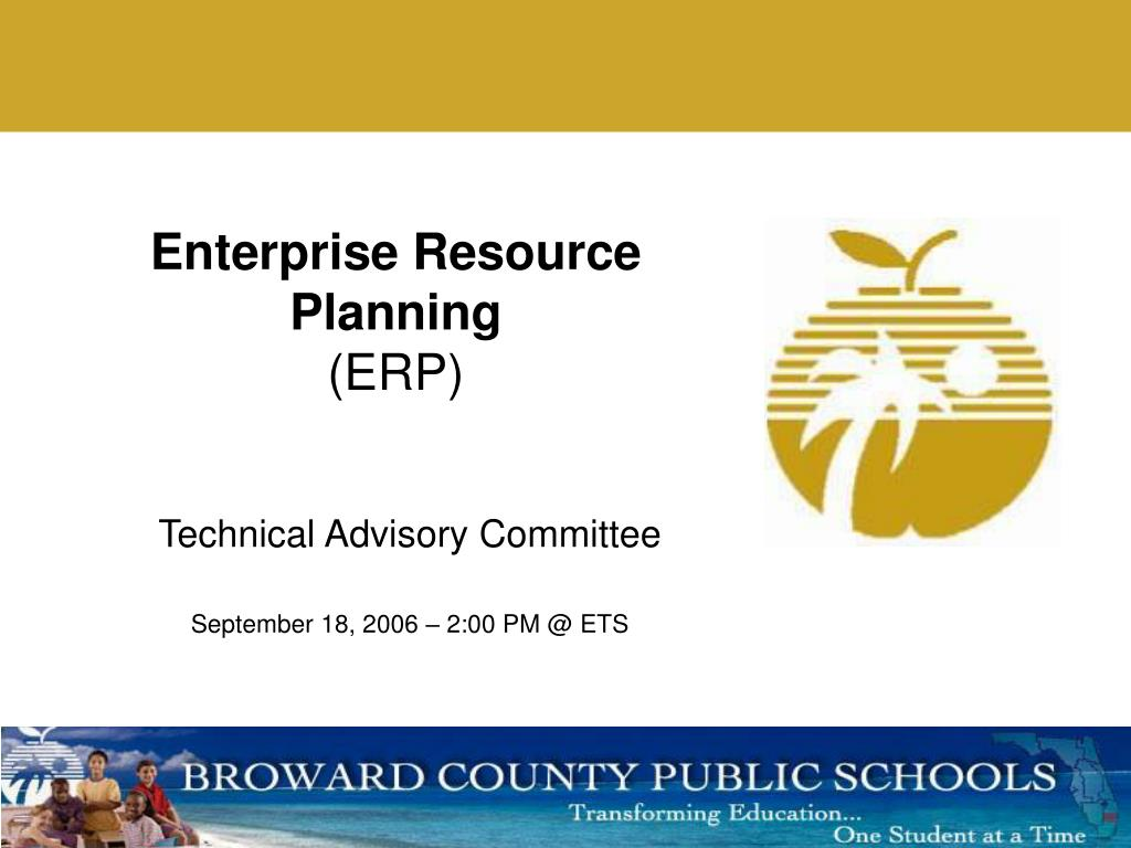 enterprise resource planning erp l.