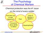 the psychology of chemical warfare