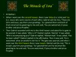 the miracle of isra11