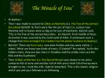 the miracle of isra17