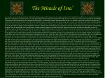 the miracle of isra37