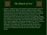 the miracle of isra7