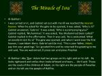 the miracle of isra9