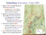 gettysburg execution 2 july 1863