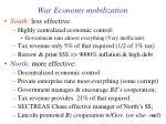 war economy mobilization