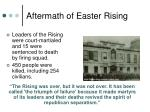 aftermath of easter rising