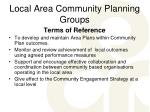 local area community planning groups12