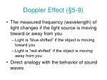 doppler effect 5 9