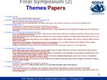 final symposium 2 themes papers