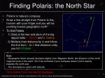 finding polaris the north star