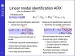 linear model identification arx qin and badgwell 2003