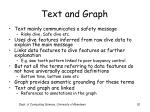 text and graph