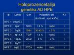 holoprozencefalija genetika ad hpe5