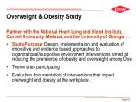 overweight obesity study
